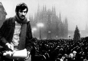 Mario Capanna in una foto d'epoca