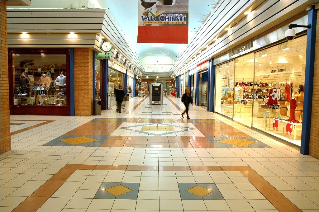 Il centro commerciale Valdichienti