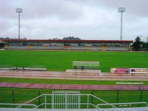 Lo stadio Helvia Recina