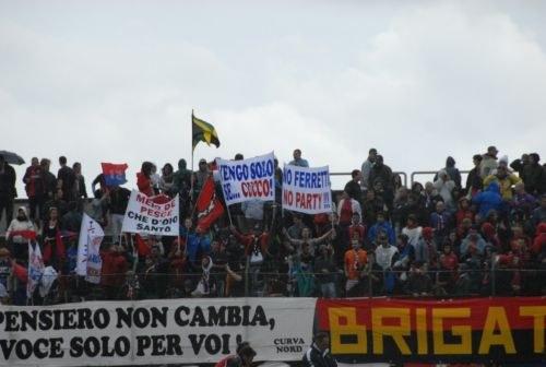 I tifosi della Civitanovese sono pronti per il derby