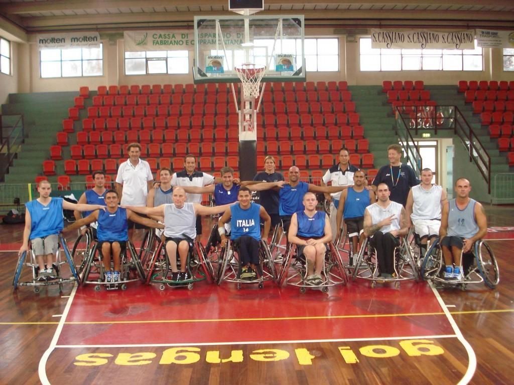Nazionale basket disabili