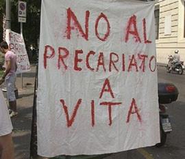 precari protesta