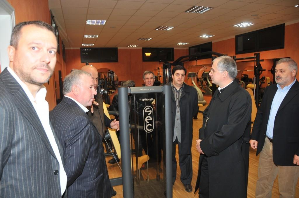 Il 21 ottobre 2009 l'inaugurazione del centro sportivo di Piediripa