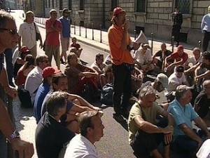 protesta operai