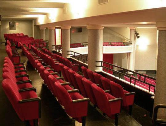 La sala del cinema Italia