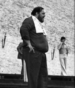 Luciano Pavarotti allo Sferisterio