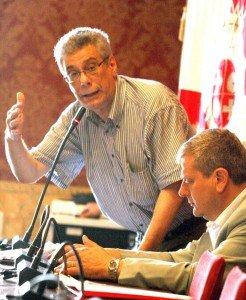Guido Garufi in Consiglio comunale