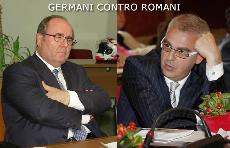 germani contro romani