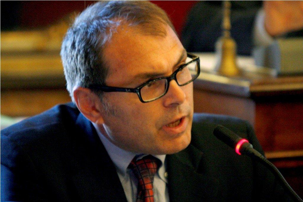 L'assessore al bilancio Marco Blunno