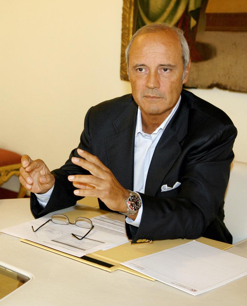 Franco Gazzani, presidente della Fondazione Carima