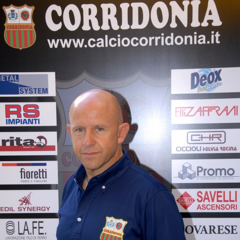 Giovanni Ciarlantini tecnico del Corridonia
