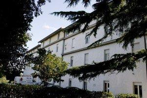 La casa di riposo Villa Cozza, a Macerata