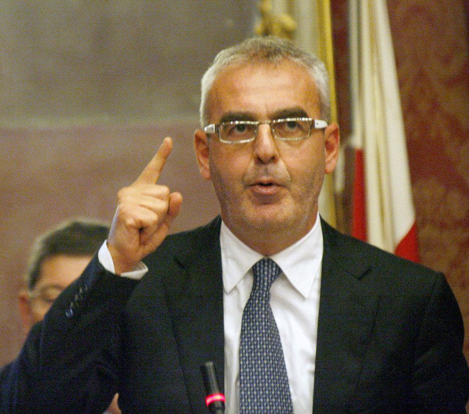 Il sindaco Carancini