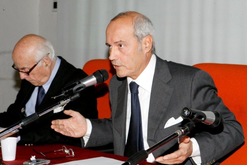 Il presidente della Fondazione Carima Franco Gazzani