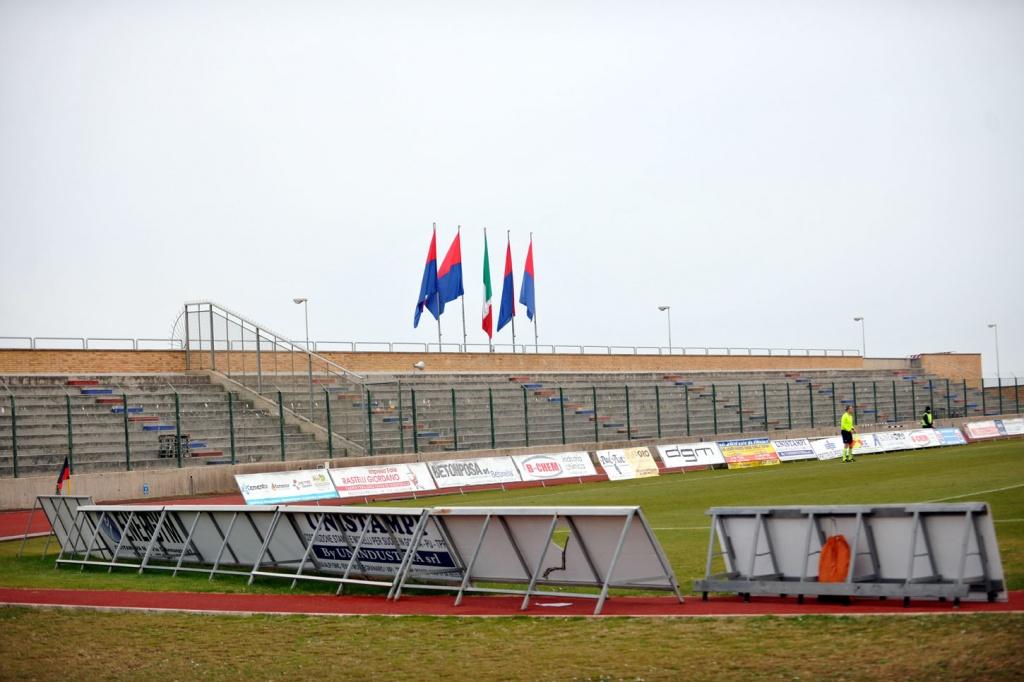 Il Polisportivo di Civitanova pronto ad ospitare Civitanovese-Maceratese