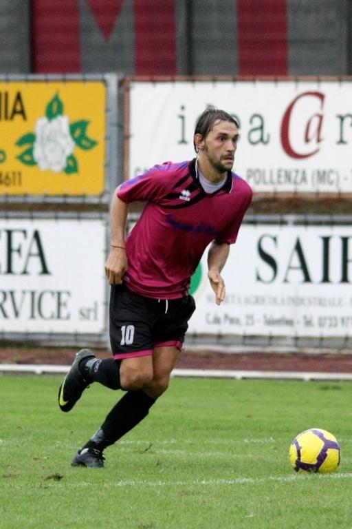Sebastian Marcoaldi, decisivo il suo gol al Della Vittoria