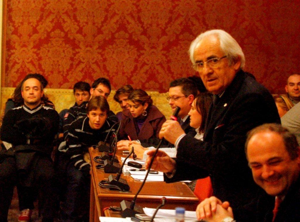 I consiglieri comunali Udc Ivano Tacconi e Massimo Pizzchini