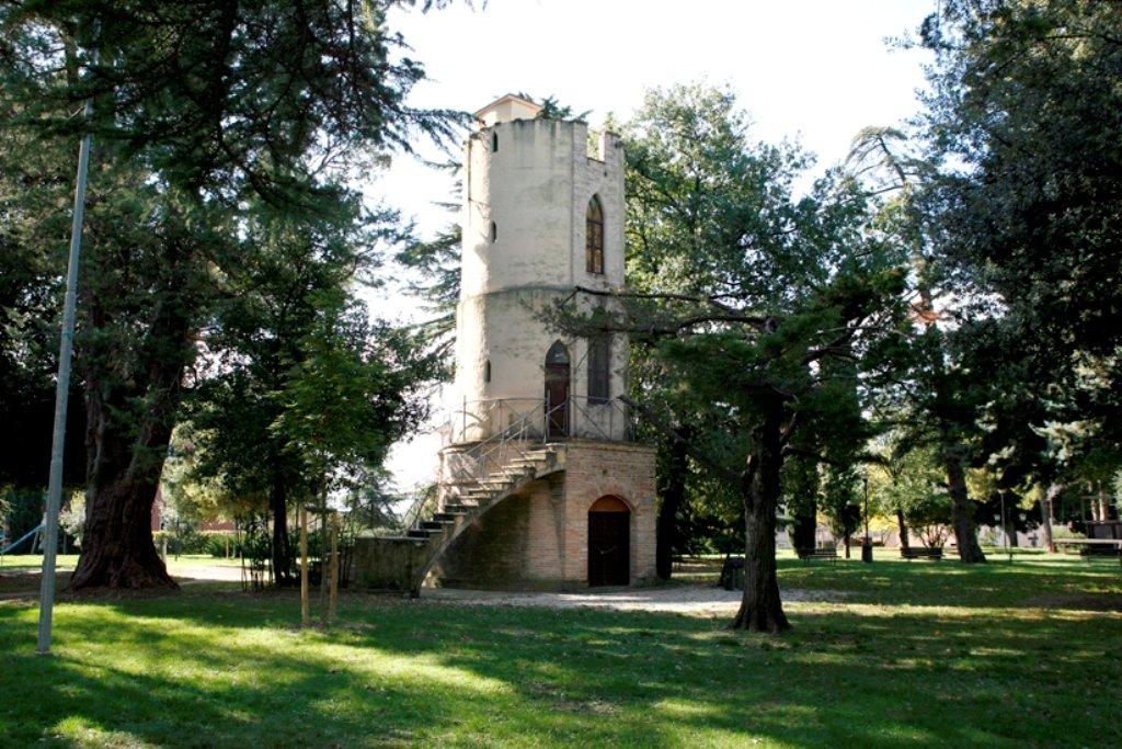 Il parco di Villa Cozza