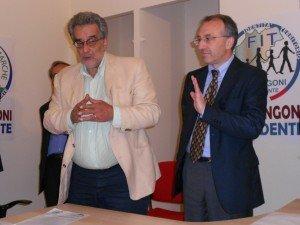 Gabor Bonifazi con Enzo Marangoni
