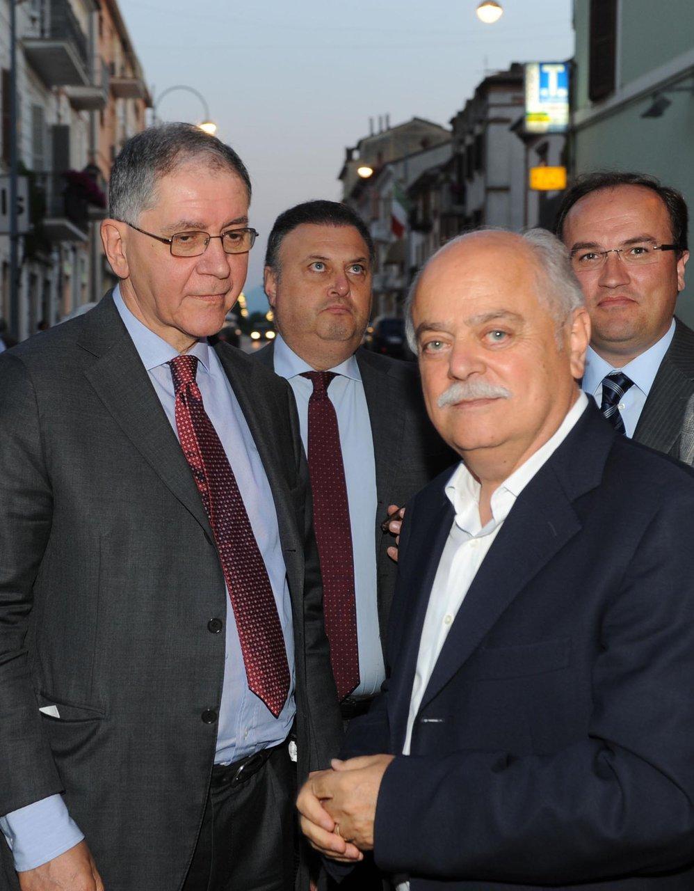 Rocco Buttiglione e Antonio Pettinari