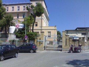 L'ingresso del Salesi di Ancona