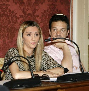 Francesca D'Alessandro e Fabrizio Nascimbeni (Macerata è nel cuore)