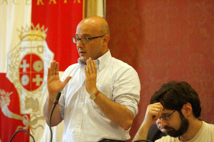 Michele Lattanzi e Stefano Blanchi in Consiglio comunale