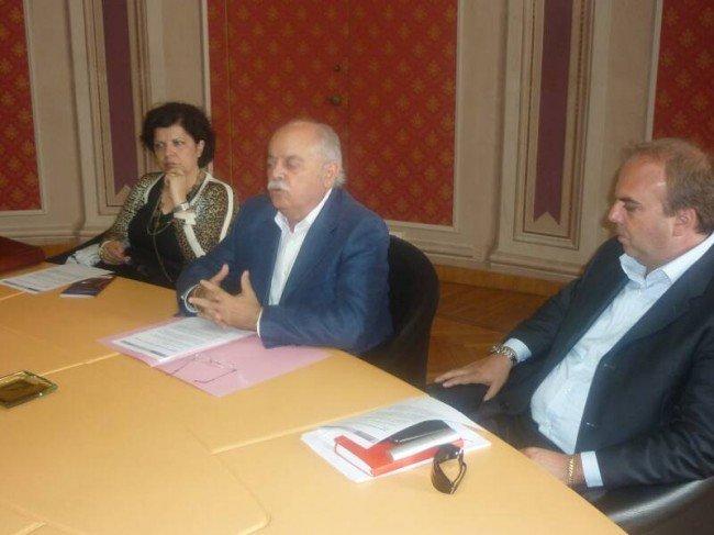 Paola Mariani, Antonio Pettinari e Giorgio Palombini