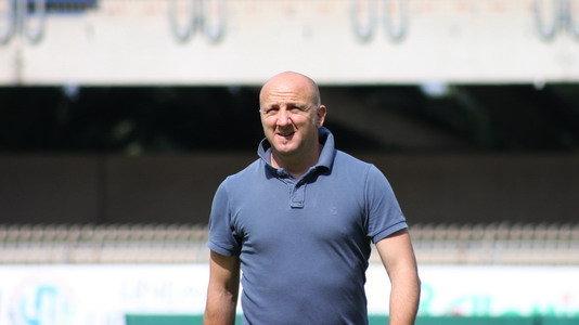 L'allenatore della Sambenedettese Ottavio Palladini