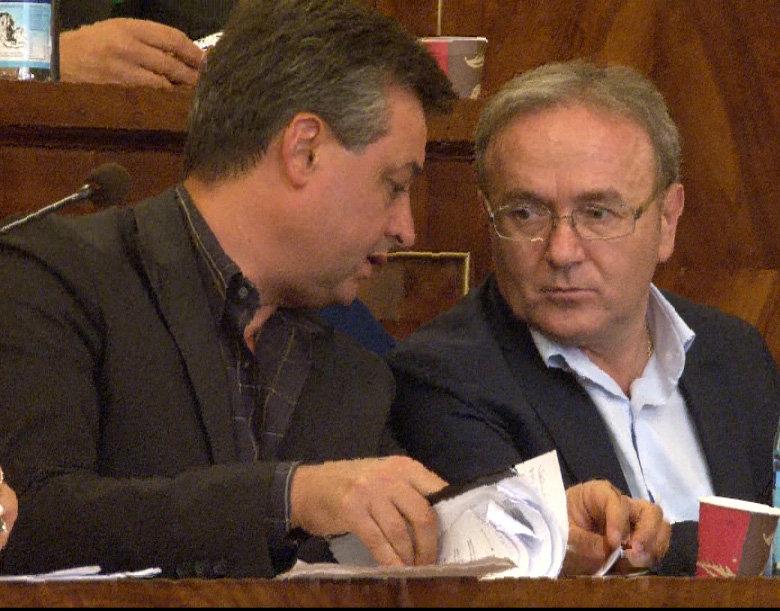 I consiglieri provinciali  Nazareno Agostini e Franco Capponi