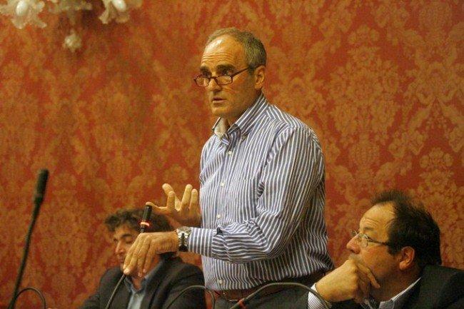 Romeo Renis in Consiglio comunale