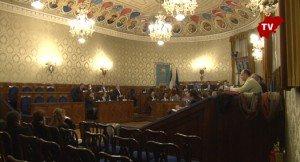 La sala del Consiglio provinciale