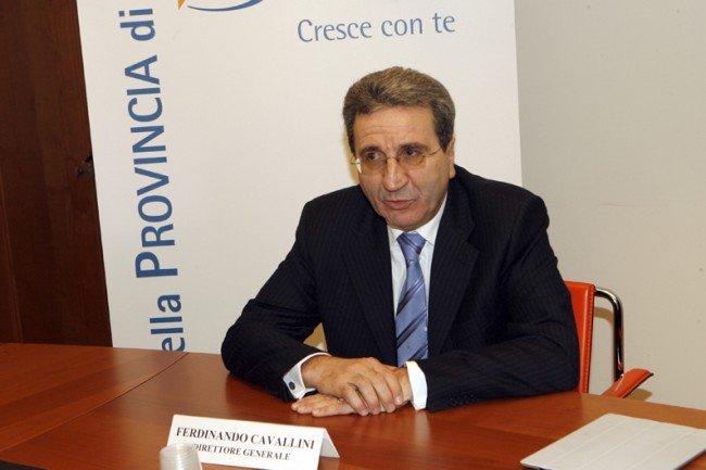Il direttore generale Ferdinando Cavallini