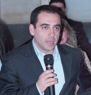 Francesco Comi, segretario del Pd