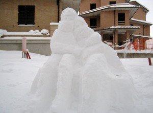 Sculture di neve - di Elisa Tarulli