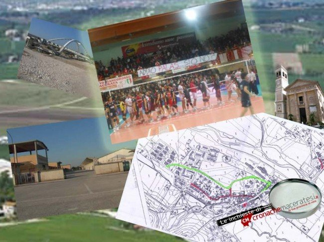 SI SAREBBE POTUTO FARE - Il palazzetto dello sport al centro di Villa Potenza