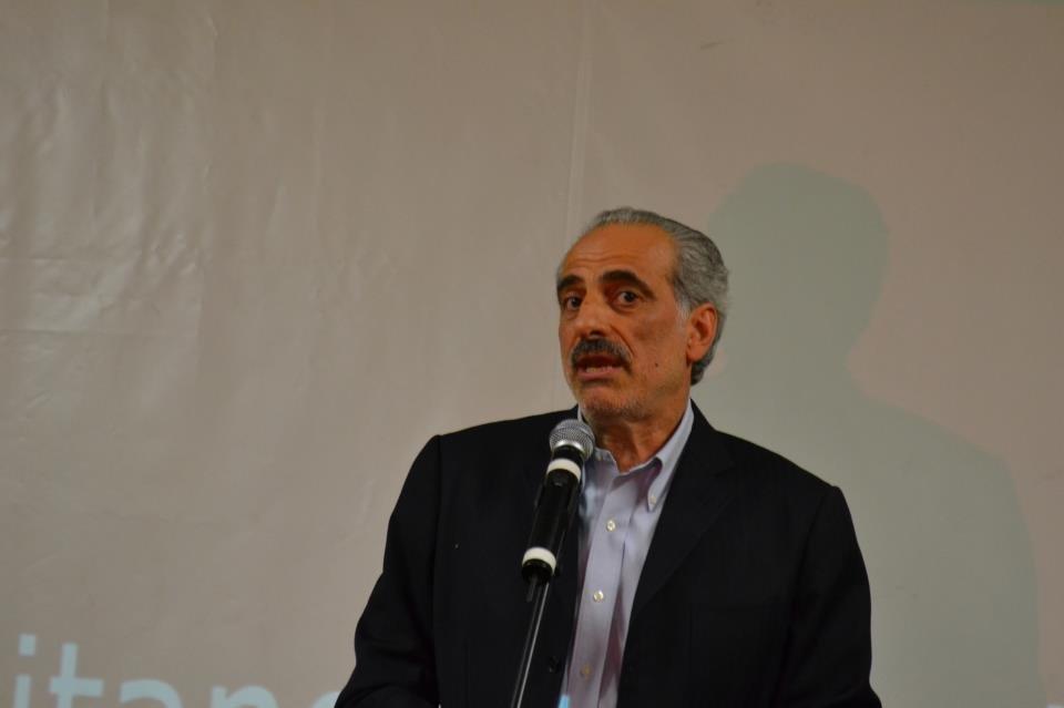 L'ex presidente della Provincia, Giulio Silenzi