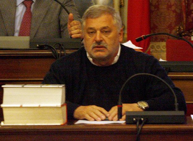 L'assessore Alferio Canesin
