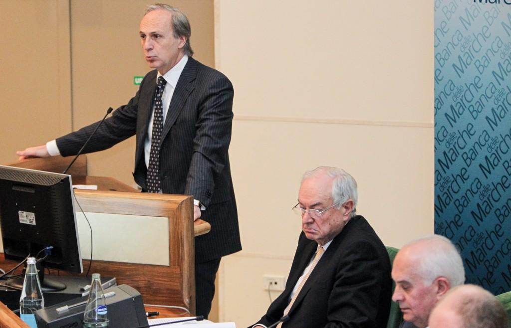 L'ex-dg di Banca delle Marche, Massimo Bianconi.