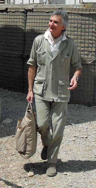 Andrea Angeli, peacekeeper, portavoce Onu, giornalista, addetto stampa.