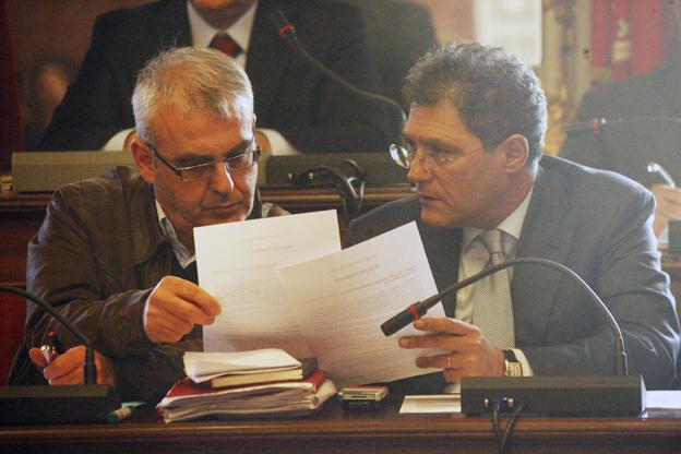 Romano Carancini e Bruno Mandrelli