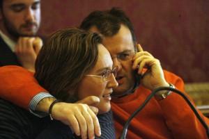 Deborah Pantana e Riccardo Sacchi in Consiglio comunale