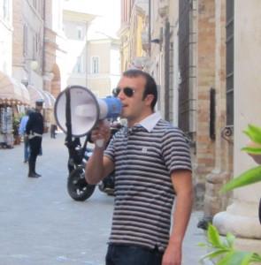 Tommaso Golini, coordinatore provinciale di Forza Nuova