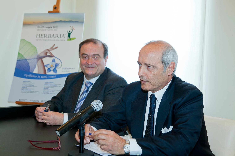Giuliano Bianchi e Franco Gazzani