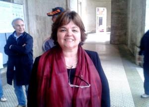 Il sindaco di Corridonia, Nelia Calvigioni