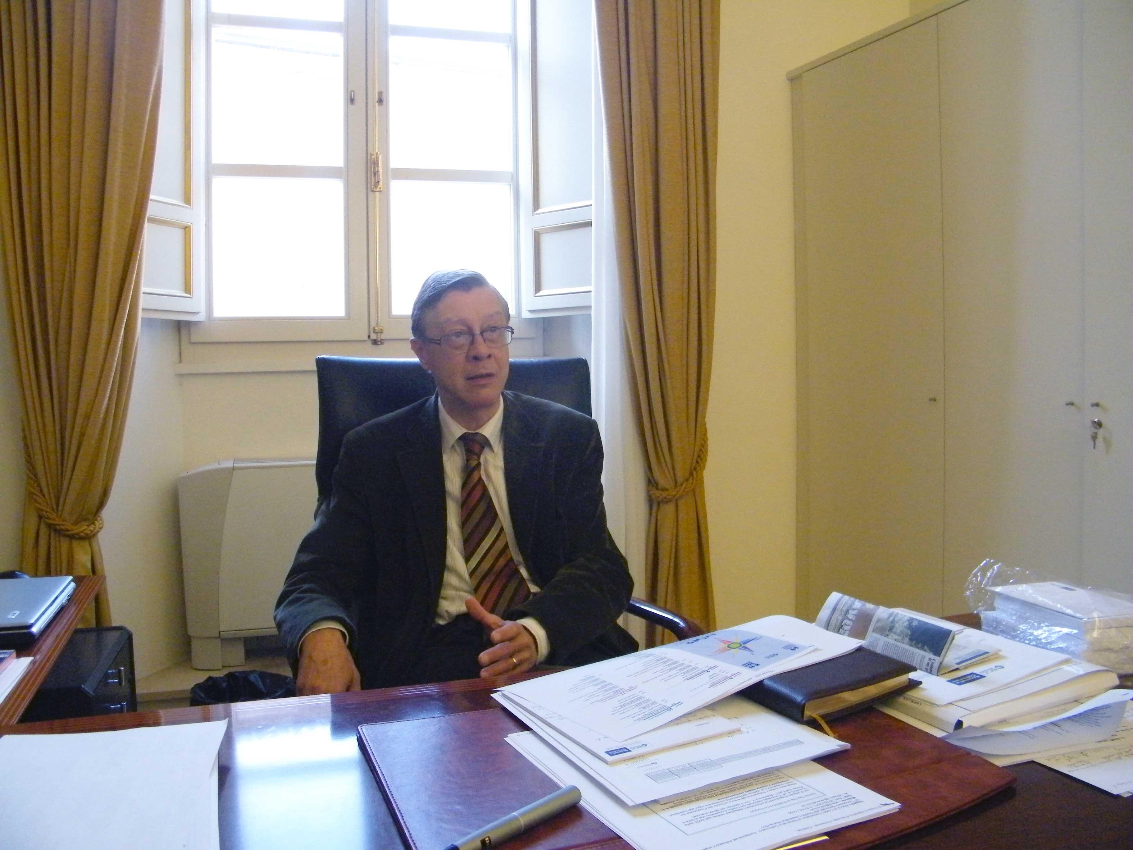 Il presidente Alberto Niccoli