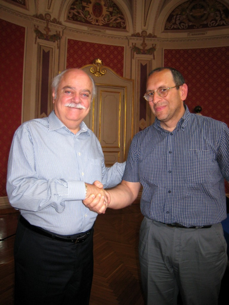 Antonio Pettinari e Tommaso Claudio Corvatta