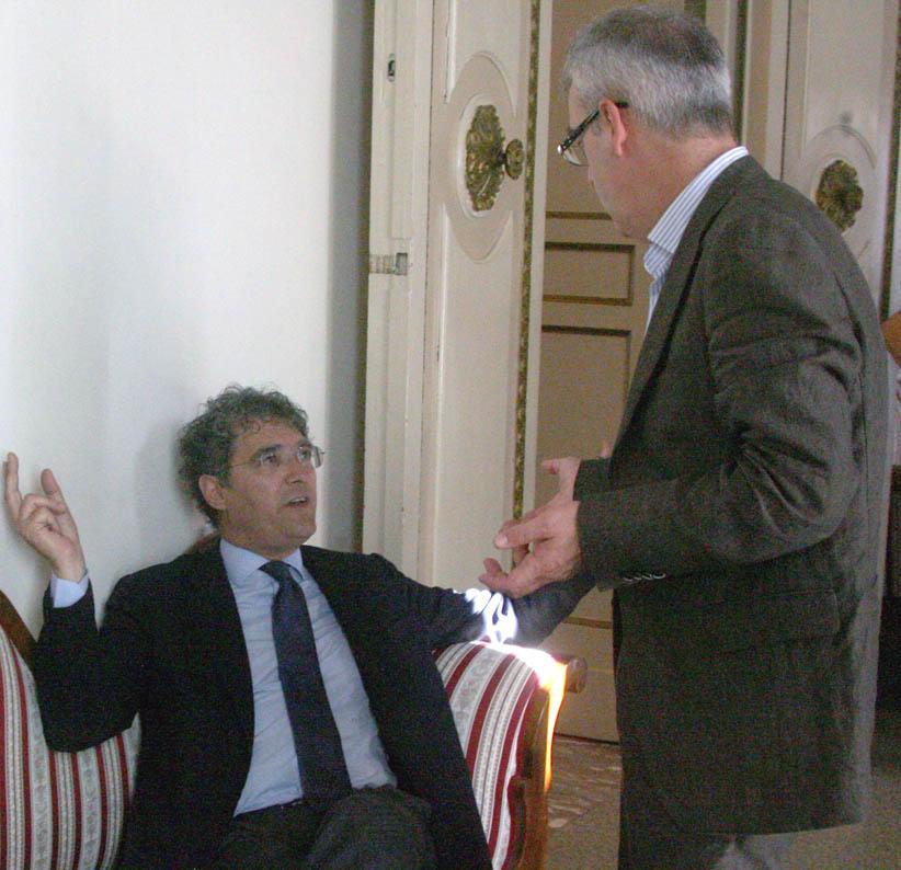 Bruno Mandrelli, da segretario Pd e in Consiglio comunale, ha spesso e volentieri crticato l'operato della Giunta Carancini