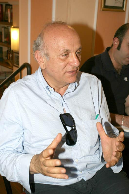 L'architetto Fabio Grisogani