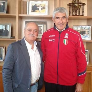 Antonio Pettinari e Pierferdinando Casini